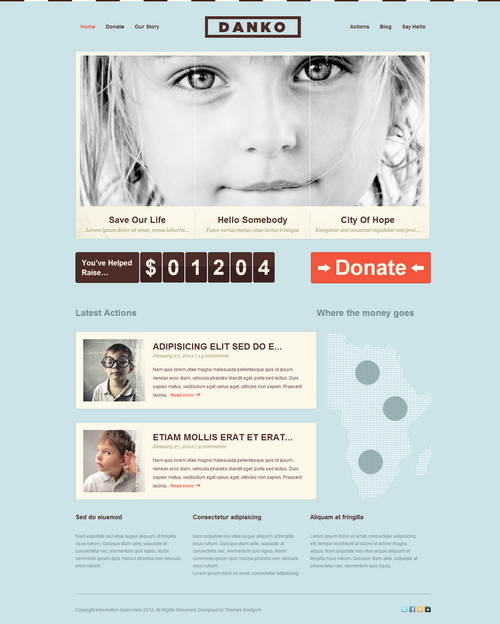 Danko Nonprofit WordPress Theme